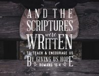 The Scriptures Give us Hope